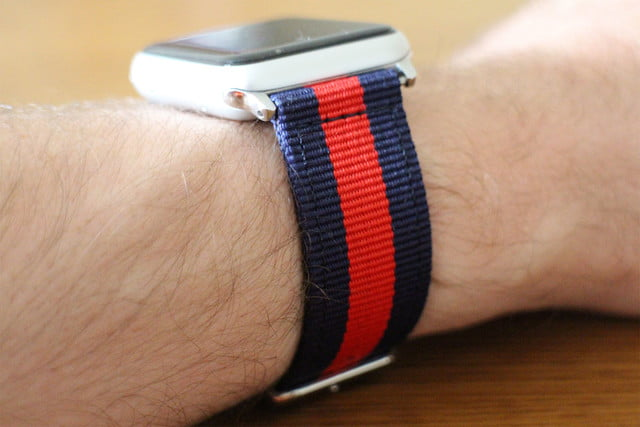 best Apple Watch bands Nyloon Watch Band side