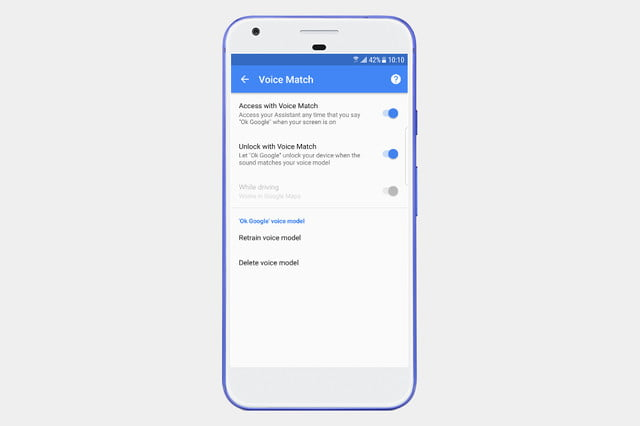 How to turn on 'OK Google' voice command
