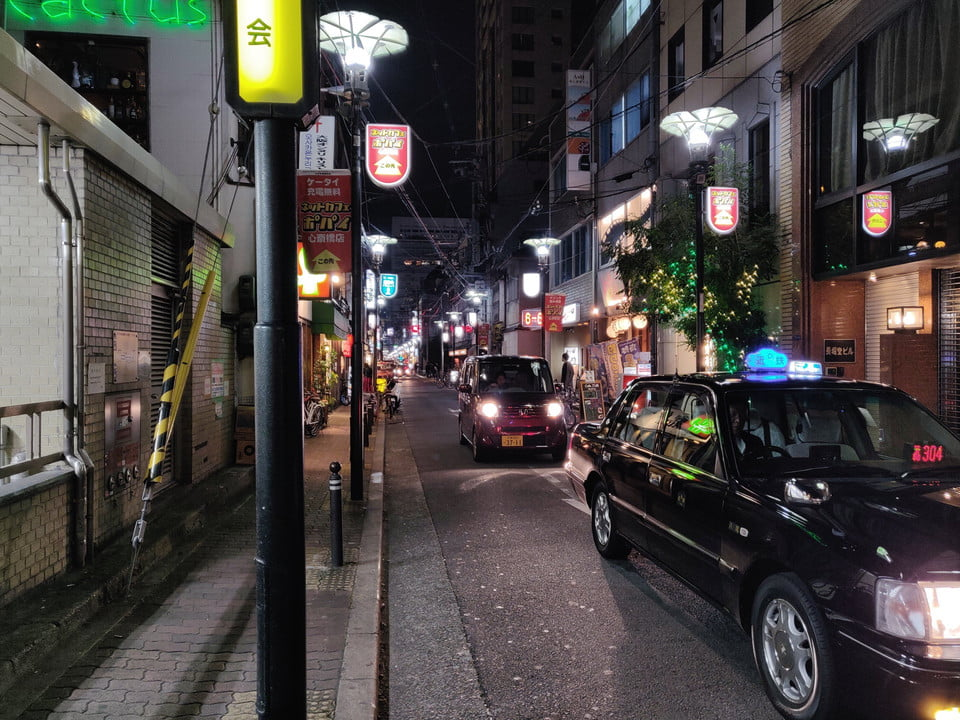 OnePlus 6T Night Time 1 Streets of Osaka