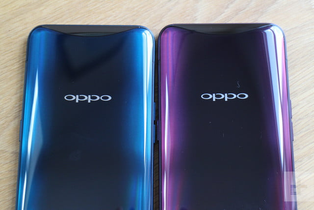 Oppo Find X both colors