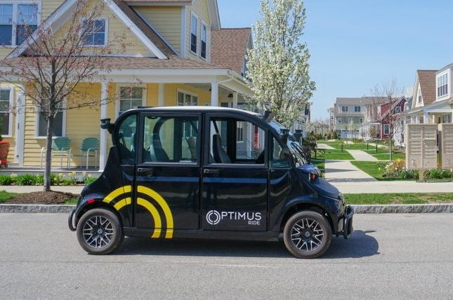 optimus ride to offer autonomous shuttle rides in new york city