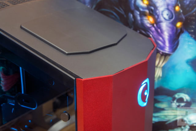 origin millenium desktop review top angle