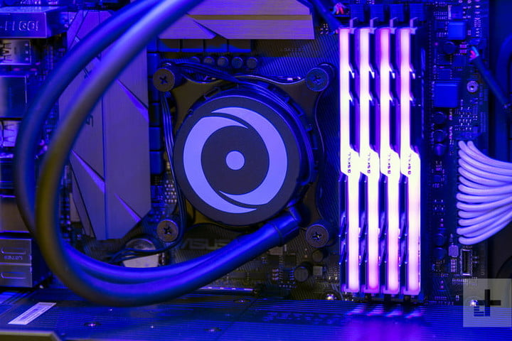 origin neuron 2017 gaming desktop review cpu cooling
