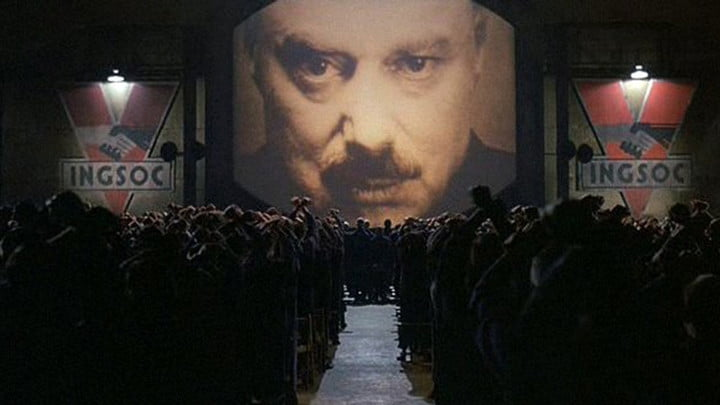 Orwell's 1984 was nothing like actual 1984. But it's exactly like 2019