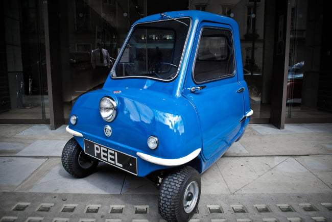 Peel P50 For Sale >> Peel P50: The world's smallest car is back | Digital Trends