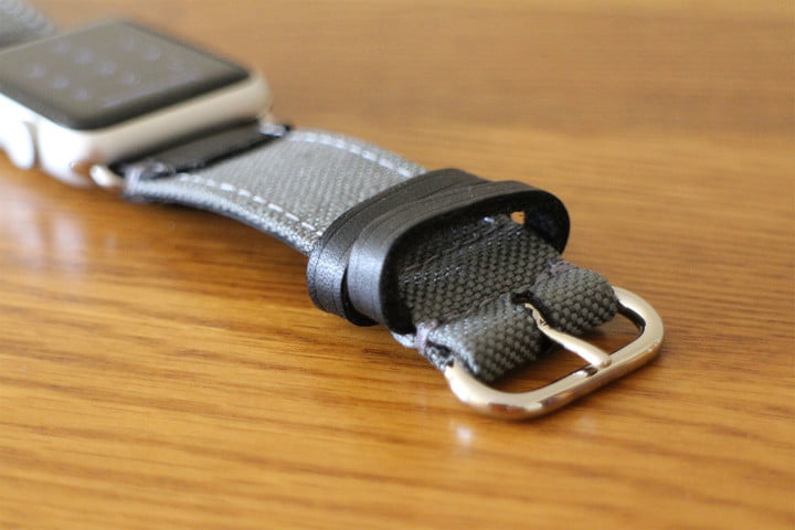 best Apple Watch bands Pad & Quill Field Strap buckle