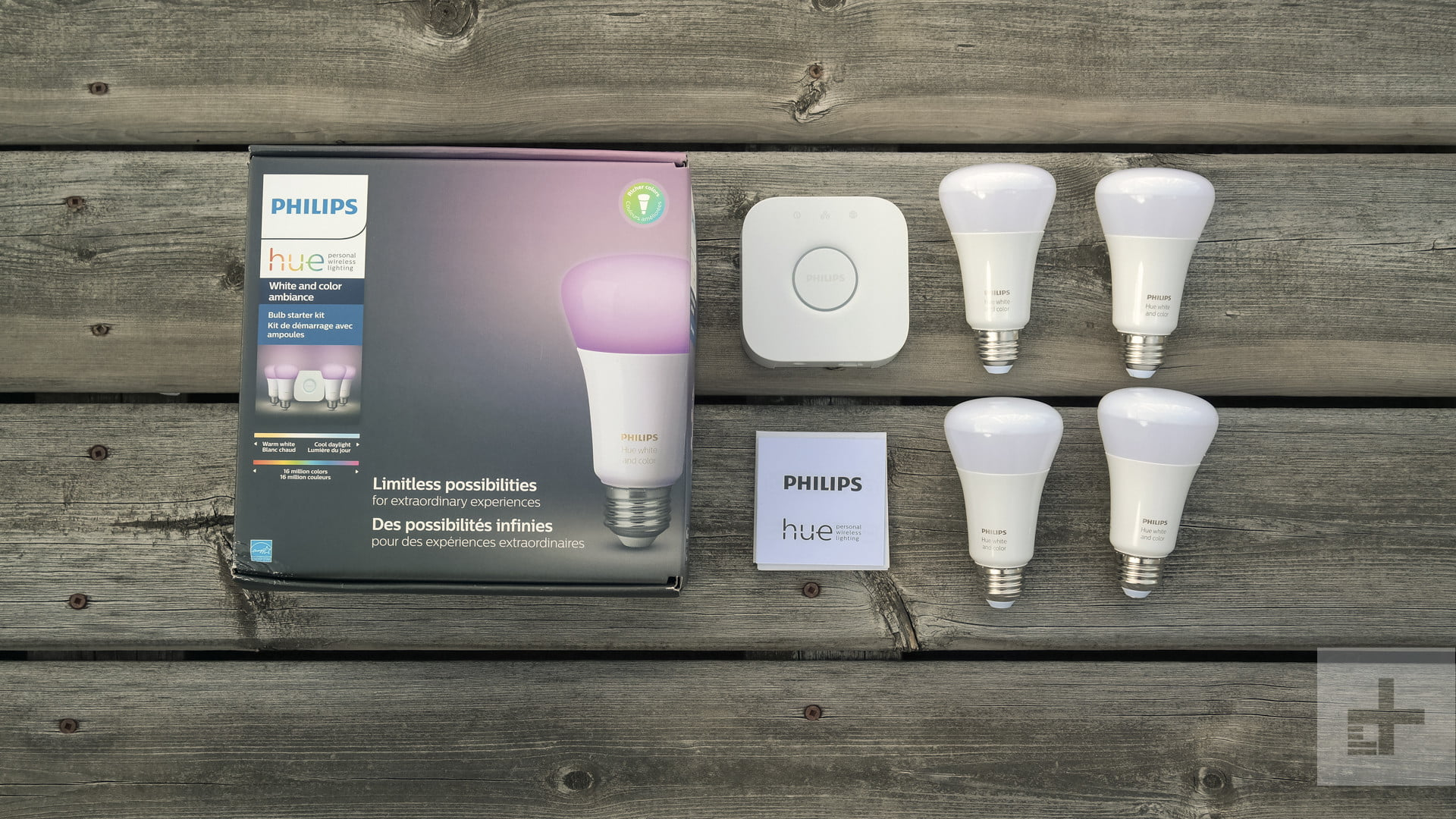 philips hue white and color ambience starter kit review digital trends. Black Bedroom Furniture Sets. Home Design Ideas