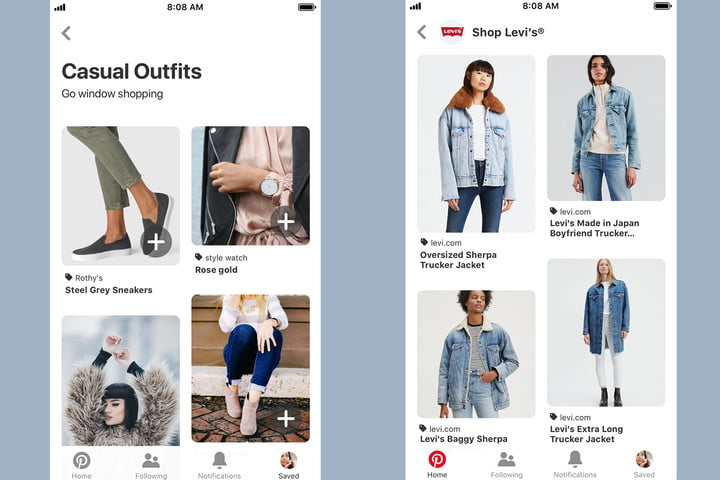 Pinterest personalizes online window shopping with new tools