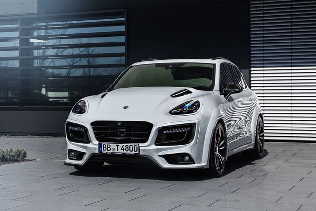 techart boosts porsches cayenne turbo s up to 720 horsepower