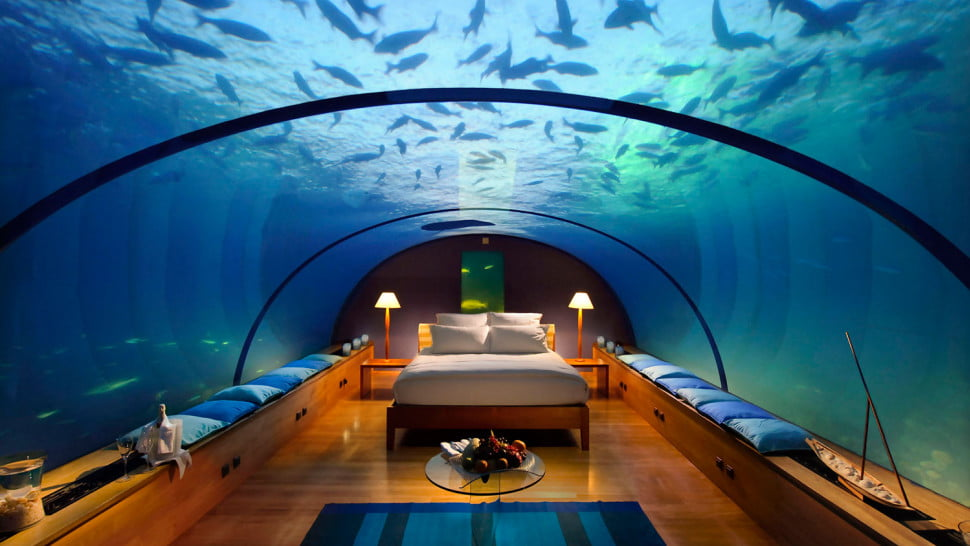 Vacation Beneath The Waves In The Best Underwater Hotels In The
