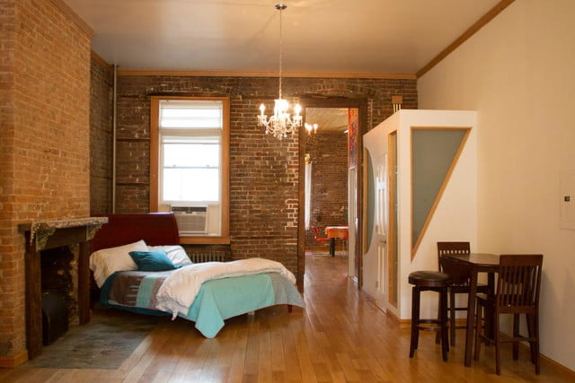 pure house co living apartment bedroom