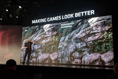 AMD's Radeon Image Sharpening Fights Nvidia DLSS, Ray
