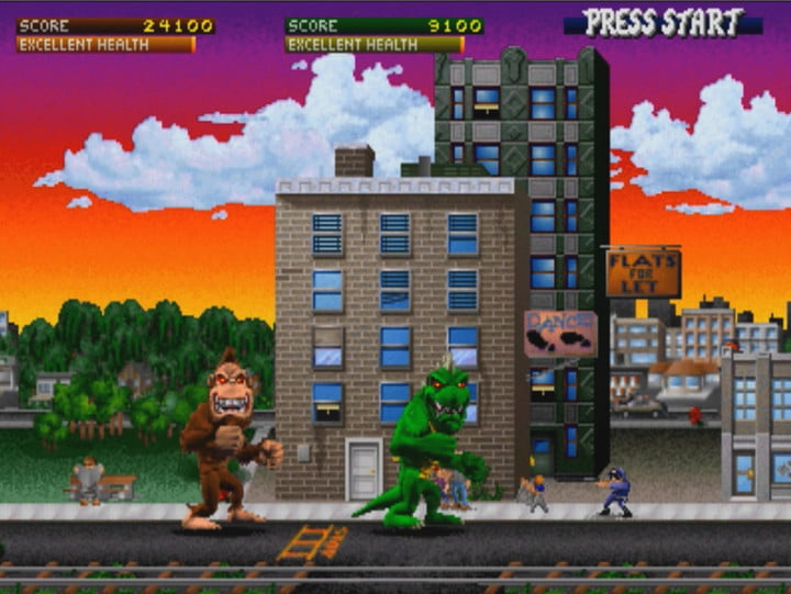 Image result for rampage video game