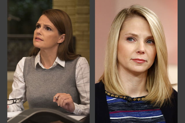 6 silicon valley characters inspired by real people raviga managing partner laurie bream  yahoo ceo marissa mayer main