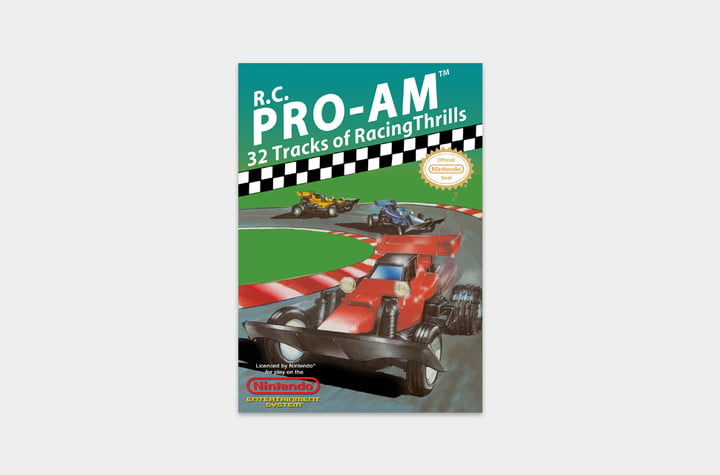 best nes games ever rc pro cover