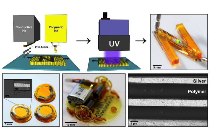 New 3D Printing Technique Uses UV Light To Print Working Electronic
