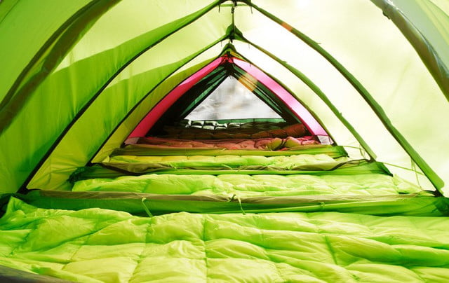 RhinoWolf Modular Attachable Super Tent interior