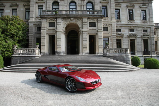 pioneering ev super car rimac secures investors 1088 hp concept one 1