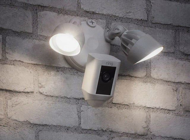 ring wired security products color night vision floodlight camera