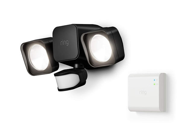 amazon drops pre prime day prices on ring smart lighting floodlights  floodlight battery black 1