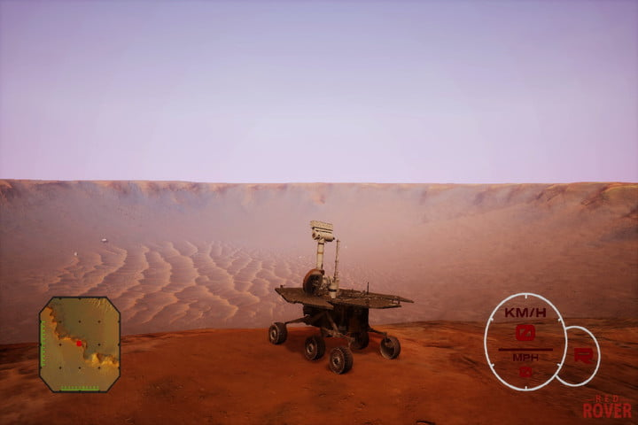 Mars lander simulator lets you take Opportunity rover for one last spin