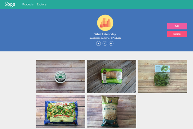 sage is like a food label designed just for you nutrition personalize