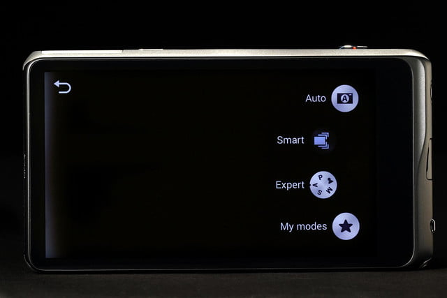 Samsung Galaxy 2 mode select