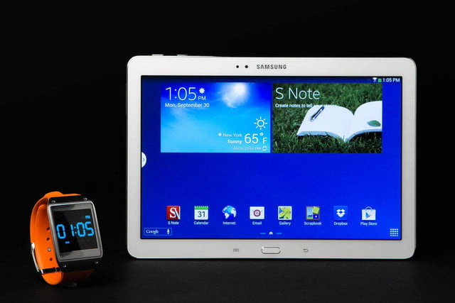 Samsung Galaxy Note 10 1 with watch
