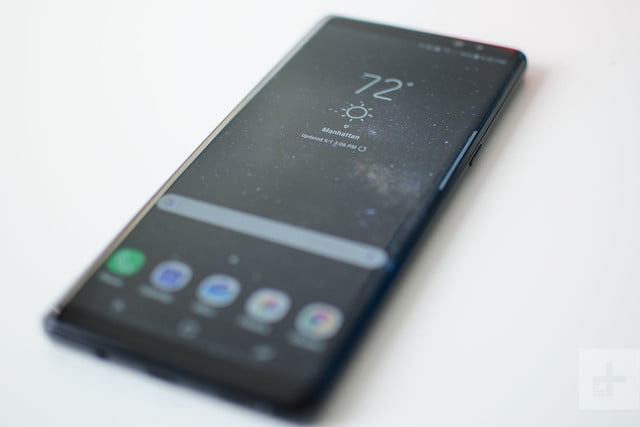 Samsung Galaxy Note 8 review angle