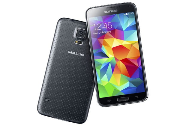 galaxy s5 makes debut samsung unpacked event mwc 2014 black 2