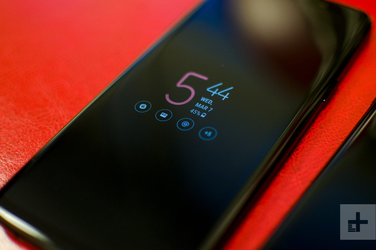 samsung galaxy s9 plus review always on display