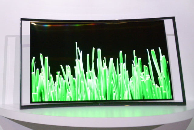 Samsung KN55S9C OLED TV front 2