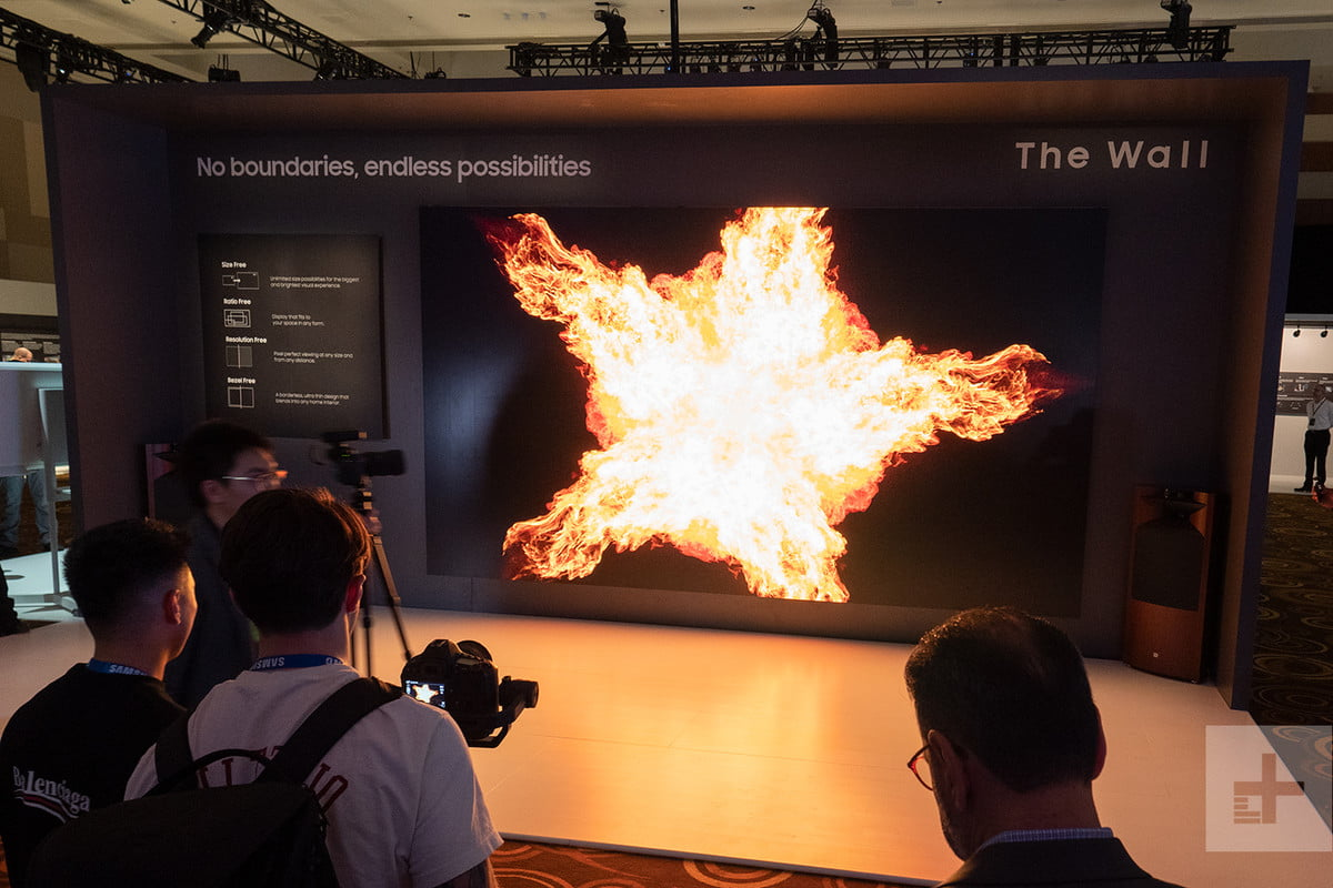 Samsung's Mind-blowing 219-inch Micro LED TV is the Talk of CES 2019