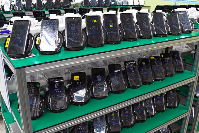 inside look at how samsung tests batteries factory tour s8 9