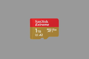 SanDisk Launches Fastest 1TB MicroSD Card Yet at 165MB Per Second