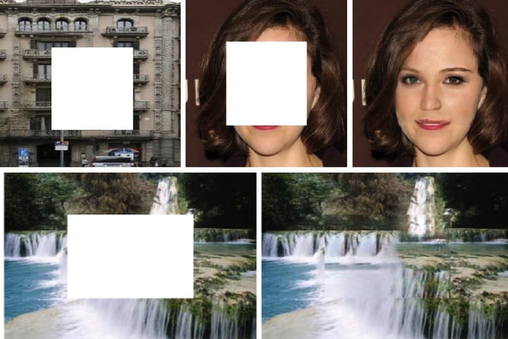 Photorealistic A.I. tool can fill in gaps in images, including faces