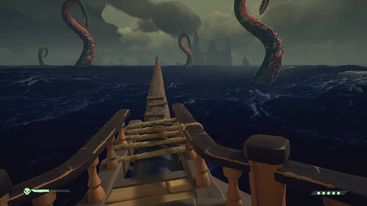 Sea of ​​Thieves, how to beat the octopus-colored black water