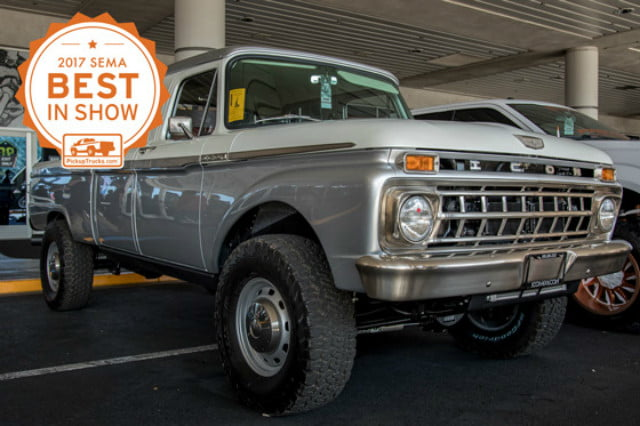 SEMA 2017 - Best in Show Restoration Winner - 1965 Ford F-250 Six-Pack