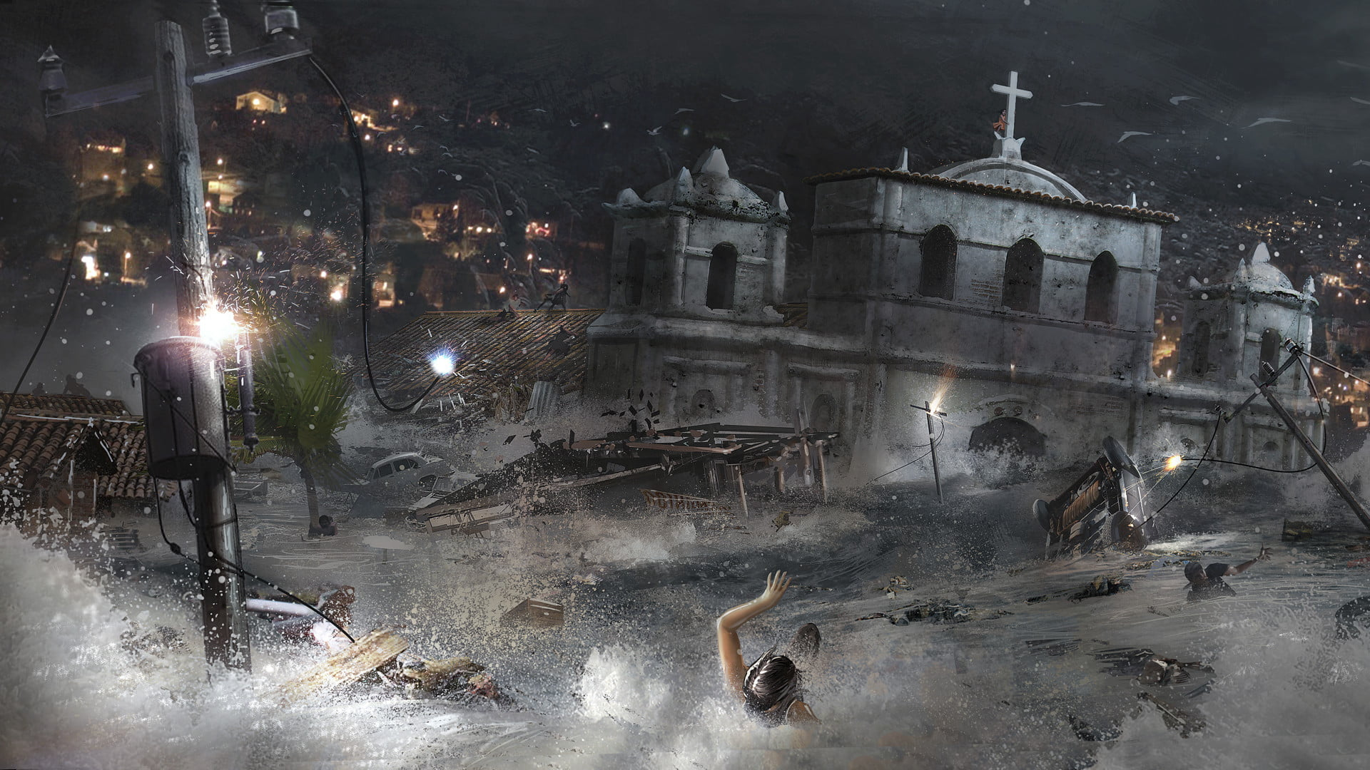 Shadow Of The Tomb Raider Concept Art: 'Shadow Of The Tomb Raider' Hands-on Preview