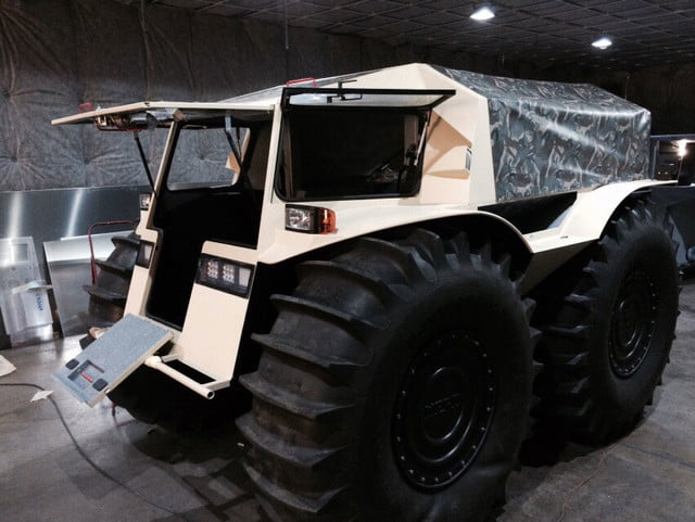russian sherp atv self inflating tires 0005