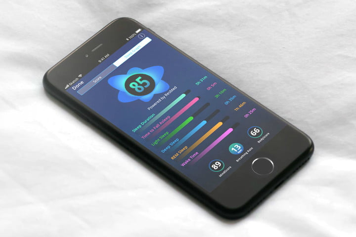sleepscore app aims to help sleep