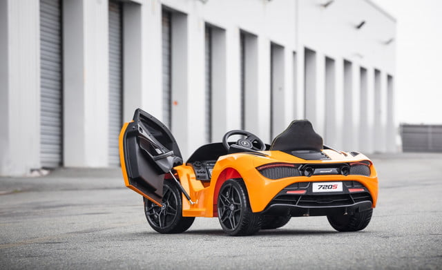 mclaren 720s ride on electrifies the kiddy car segment small 11068 mclaren720sride