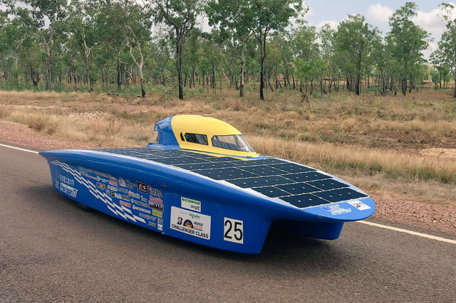 world solar challenge 2017 car