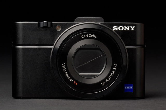 Sony Cyber shot RX100 II front closed