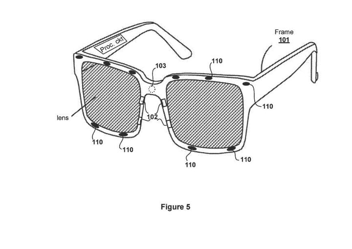 Sony patent describes glasses with eye tracking for VR headsets