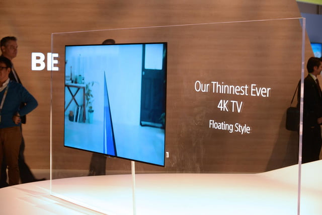 sony brings big 4k uhd netflix news and ultra thin tvs to ces 2015 x900c tv 3