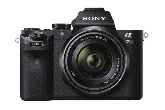 sony alpha a7 ii ilce 7m2 wfe2870 front