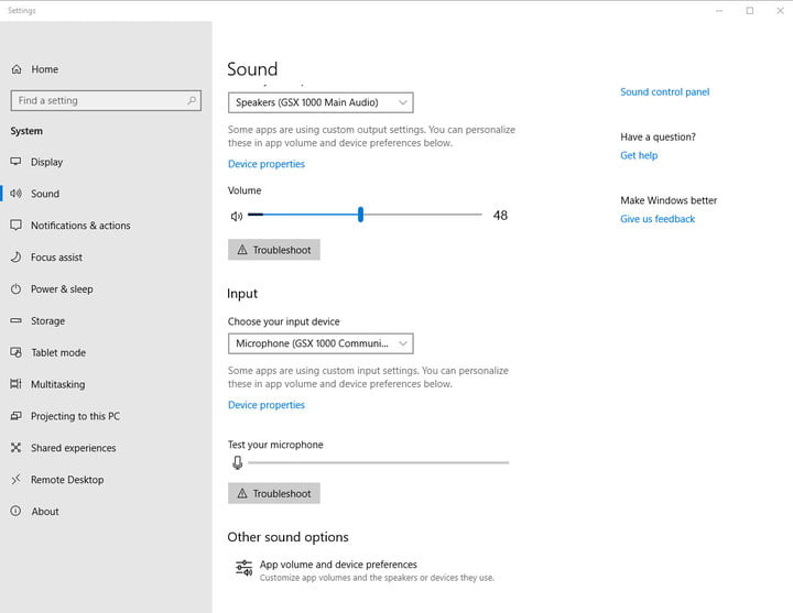 audio issues silencing your windows 10 experience heres the fix soundsettings01