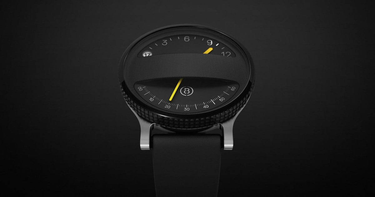 Span smartwatch concept combines analog cool with high ...