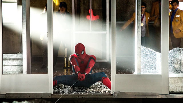 spider man homecoming review web